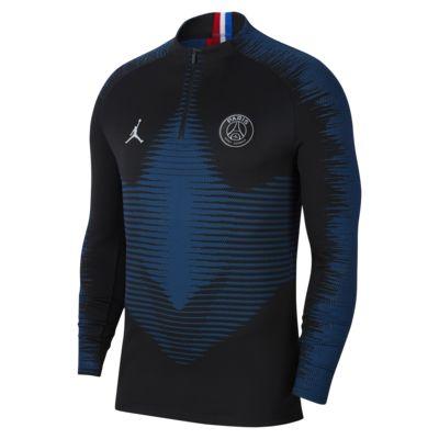 Nike VaporKnit Paris Saint-Germain Strike Drill-Fußballoberteil für Herren