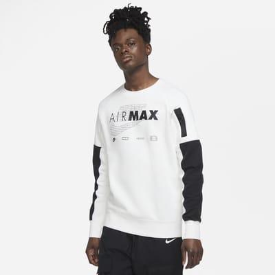 Nike Sportswear Air Max Fleeceshirt met ronde hals voor heren