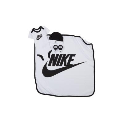 Ensemble body, bonnet, chaussons et couverture Nike pour Bébé