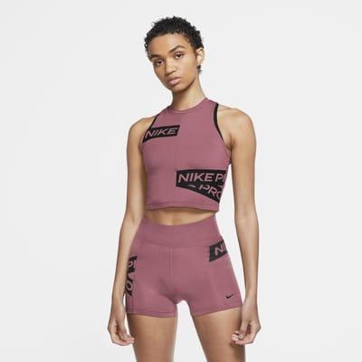 Camiseta de tirantes con gráficos para mujer Nike Pro