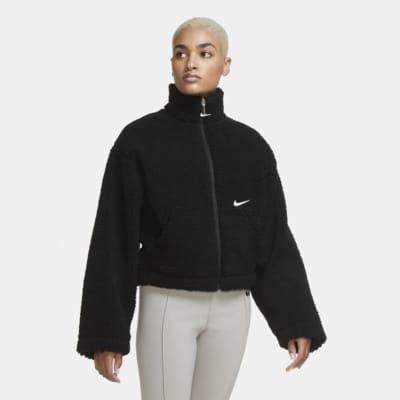 Nike W Plush Fleece Jacket | Hvit | Fleece Jackets | CJ6284