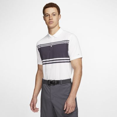 Nike Dri-FIT Player gestreiftes Golf-Poloshirt für Herren