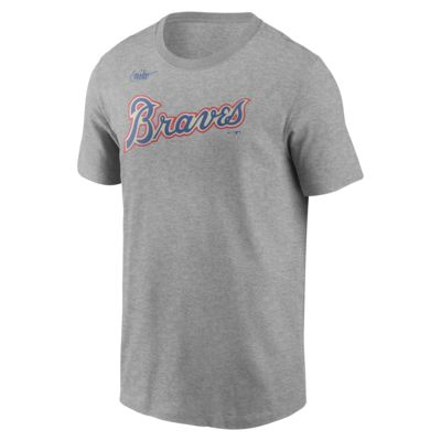 Nike Cooperstown Wordmark (MLB Atlanta Braves) Men's T-Shirt