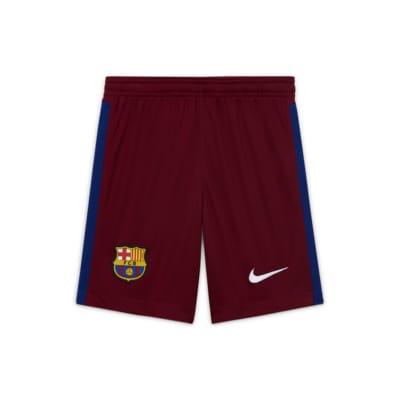 FC Barcelona 2020/21 Stadium Goalkeeper Fußballshorts für ältere Kinder