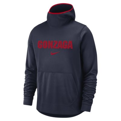 Nike College Dri-FIT Spotlight (Gonzaga) Men's Pullover Basketball Hoodie