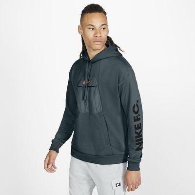 Felpa da calcio pullover con cappuccio Nike F.C. - Uomo