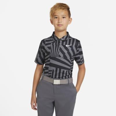 Nike Dri-FIT Boys' Graphic Golf Polo
