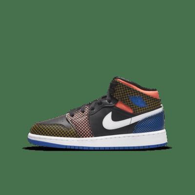 Chaussure Air Jordan 1 Mid MMD pour Enfant plus âgé. Nike LU