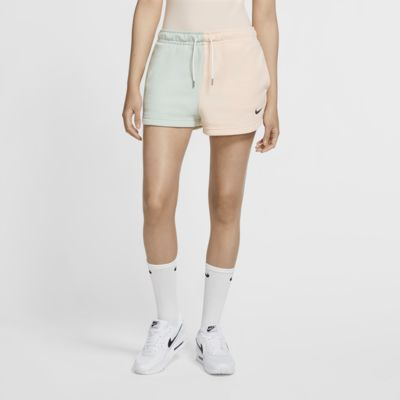 Nike Sportswear Swoosh Pantalons curts de teixit French Terry - Dona