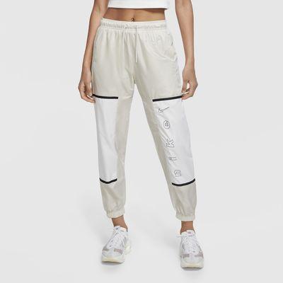 Damskie spodnie z tkaniny Nike Sportswear