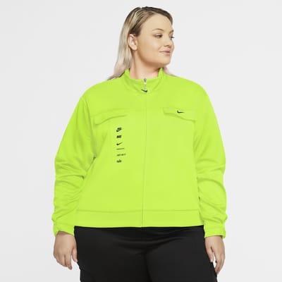 Desempleados va a decidir Monetario  Nike Sportswear Swoosh Women's Polyknit Jacket (Plus Size). Nike CZ