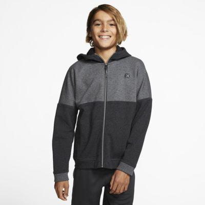 Hurley Therma Protect Blocked Boys' Fleece Full-Zip Hoodie