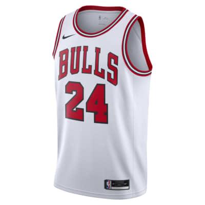 Camisola NBA da Nike Swingman Lauri Markkanen Bulls Association Edition 2020