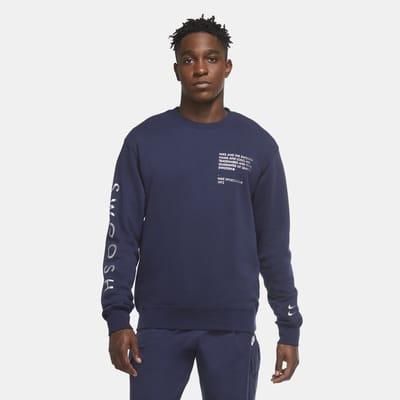 Nike Sportswear Swoosh-crewtrøje til mænd