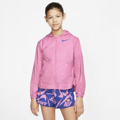 Träningsjacka Nike för ungdom (tjejer)