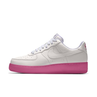 Calzado para mujer personalizado Nike Air Force 1 Low By You