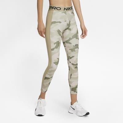 Nike Pro Women's 7/8 Camo Leggings