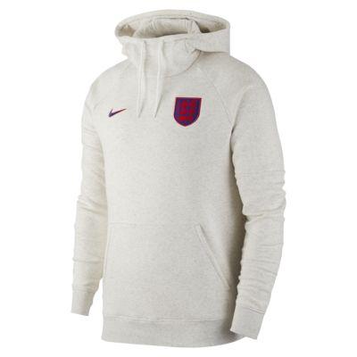 Sweat à capuche de football en tissu Fleece Angleterre pour Homme