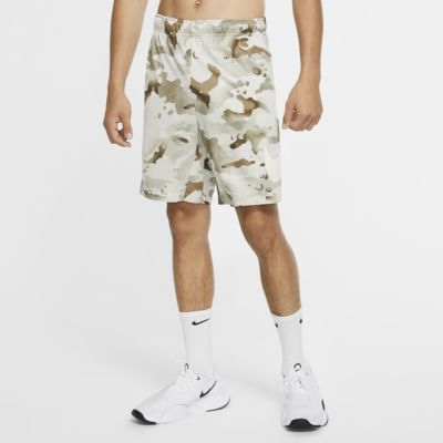 Short de training camouflage Nike Dri-FIT pour Homme
