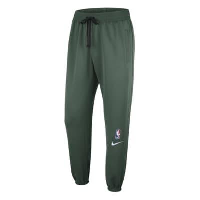 Calças NBA Nike Therma Flex Milwaukee Bucks Showtime para homem