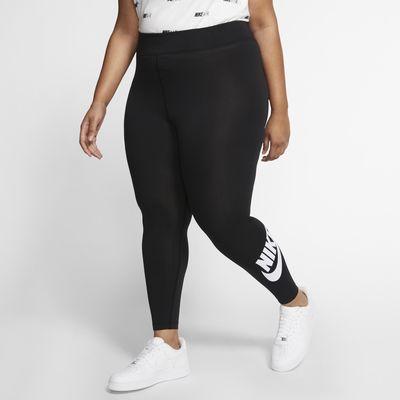 Leggings de tiro alto para mujer (talla grande) Nike Sportswear Leg-A-See