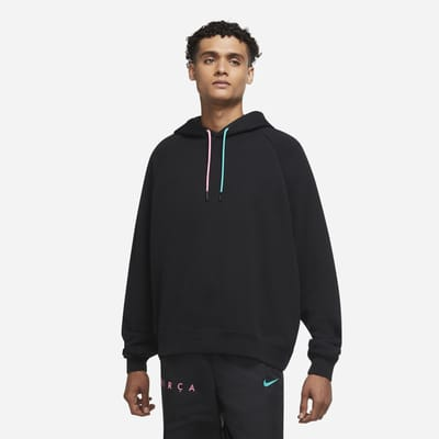 F.C. Barcelona Men's French Terry Hoodie
