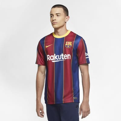 FC Barcelona 2020/21 Stadium Home Men's Soccer Jersey