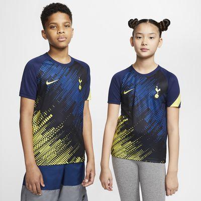 Haut de football à manches courtes Tottenham Hotspur pour Enfant plus âgé