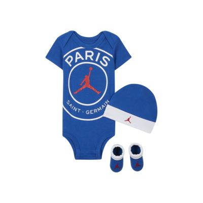 Paris Saint-Germain Conjunt de bodi, gorra i botins - Nadó