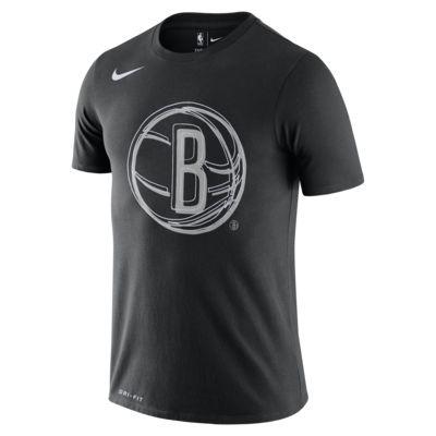 T-shirt męski NBA Nike Dri-FIT Brooklyn Nets Logo