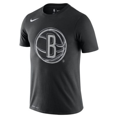 Tee-shirt NBA Nike Dri-FIT Brooklyn Nets Logo pour Homme