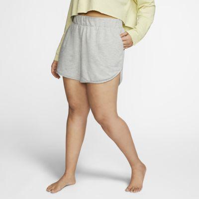 Shorts para mujer Nike Yoga (talla grande)