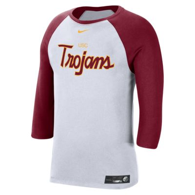 Nike College Dri-FIT (USC) Men's 3/4-Sleeve T-Shirt