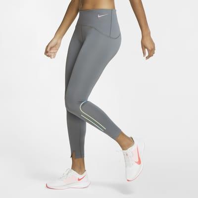 Nike Speed 7/8-Lauf-Tights in mattem Design für Damen