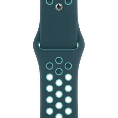 44mm Midnight Turquoise/Aurora Green Nike Sport Band - Regular