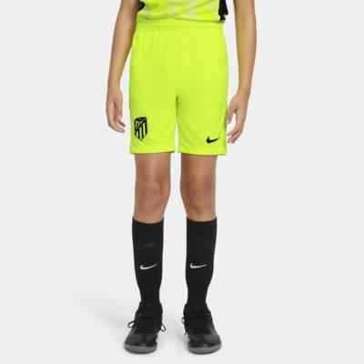 Atlético Madrid 2020/21 Stadium Third Older Kids' Football Shorts
