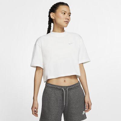 Nike Sportswear Kısa Kollu Jarse Kadın Üstü