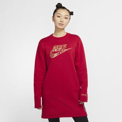 Nike Sportswear 女子起绒连衣裙
