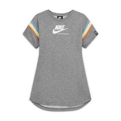 Robe à manches courtes Nike Sportswear Heritage pour Fille plus âgée