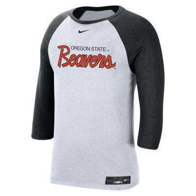 Nike College Dri-FIT (Oregon State) Men's 3/4-Sleeve T-Shirt