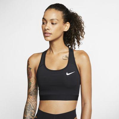 Dámská sportovní podprsenka Nike Swoosh se střední oporou