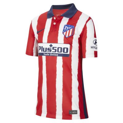 Atlético Madrid 2020/21 Stadium Home Older Kids' Football Shirt