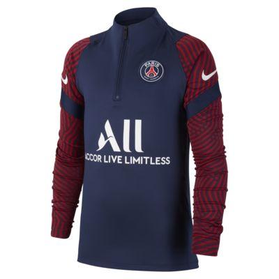 Paris Saint-Germain Strike fotballtreningsoverdel til store barn