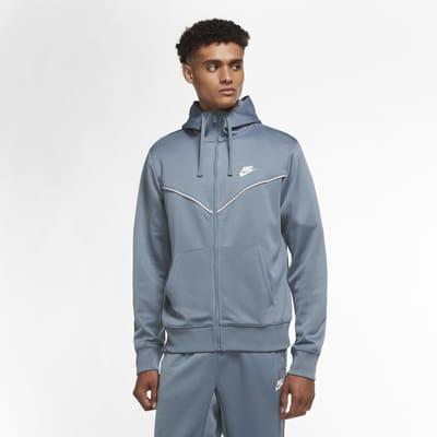 Męska bluza z kapturem i zamkiem na całej długości Nike Sportswear