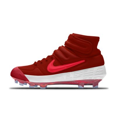 Nike Alpha Huarache Elite 2 Mid MCS Premium By You Custom Baseball Boot
