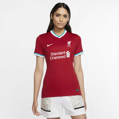 Liverpool FC 2020/21 Stadium Home-fodboldtrøje til kvinder