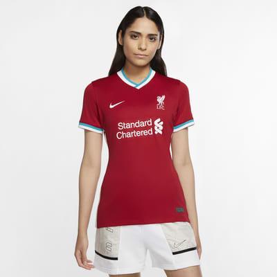 Liverpool FC 2020/21 Stadyum İç Saha Kadın Futbol Forması
