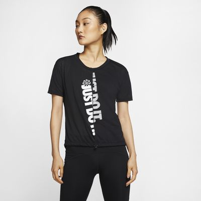 Kortärmad löpartröja Nike Icon Clash för kvinnor