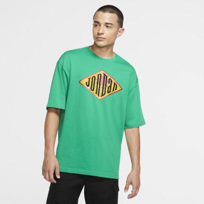 Kortärmad tröja Jordan Sport DNA med rund hals för män