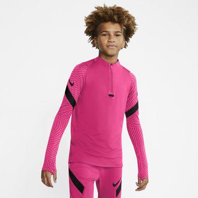 Fotbalové tréninkové tričko Nike Dri-FIT Strike pro větší děti
